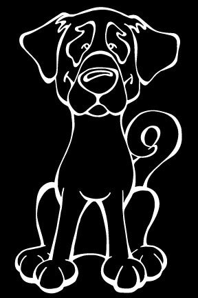 Anatolian Shepherd Dog Decal Dog