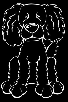 Boykin Spaniel Decal Dog
