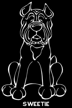 Cane Corso Decal Dog