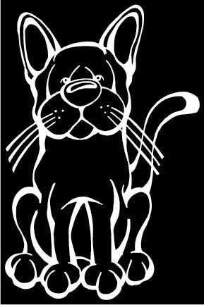 European Burmese Decal