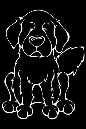 Great Pyrennes Decal Dog