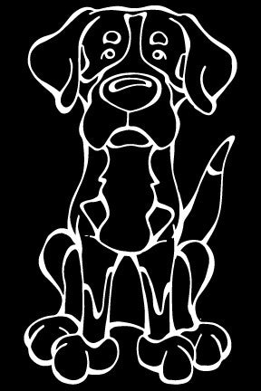 Greater Swiss Mountain Dog Decal Dog