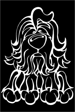 Havanese Decal Dog