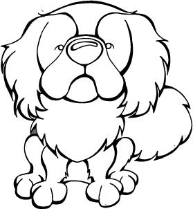 Japanese Chin Decal Dog