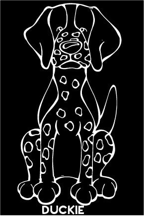 Pointer Decal Dog