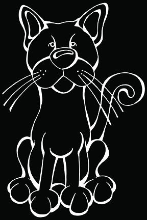 Russian Blue Decal