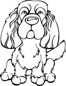 Sussex Spaniel Decal Dog