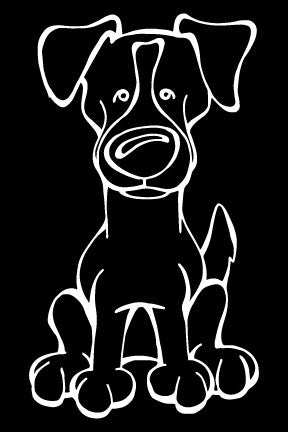 Jack Russell Terrier Decal Dog