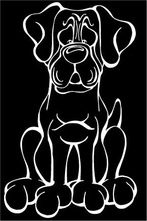 Mastiff Decal