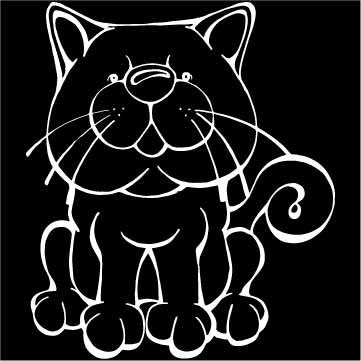British Shorthair Decal