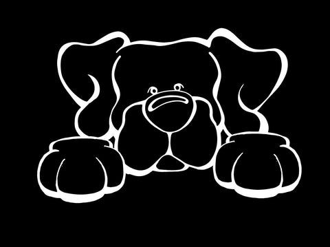 Lab Paws Decal