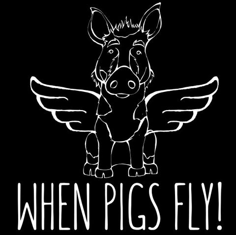 Ossabaw Island - When Pigs Fly
