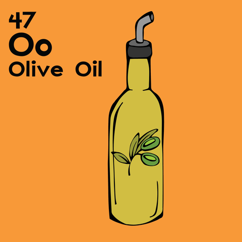 Olive Oil - The Food Table - Unframed 12x12 Print