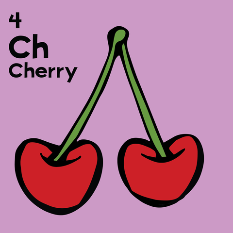 Cherry - The Food Table - Unframed 12x12 Print