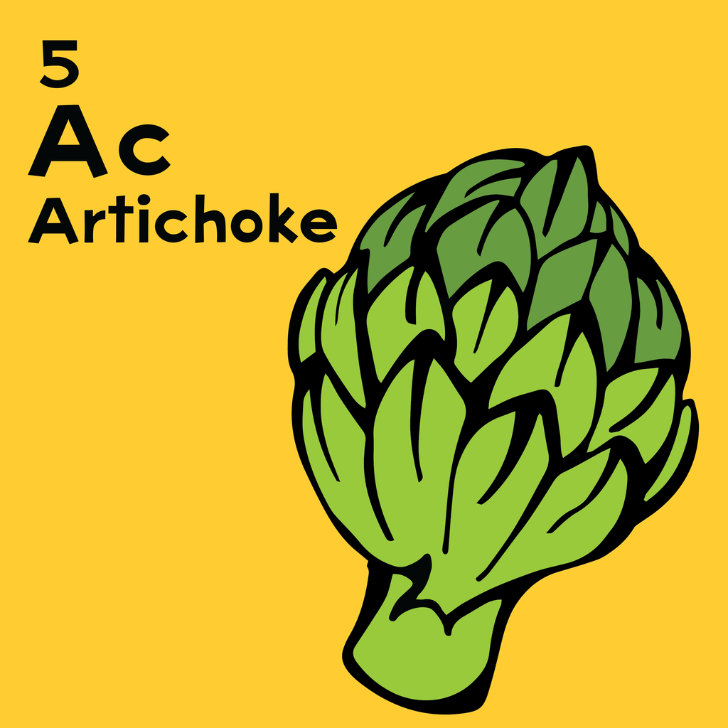 Artichokes - The Food Table - Unframed 12x12 Print