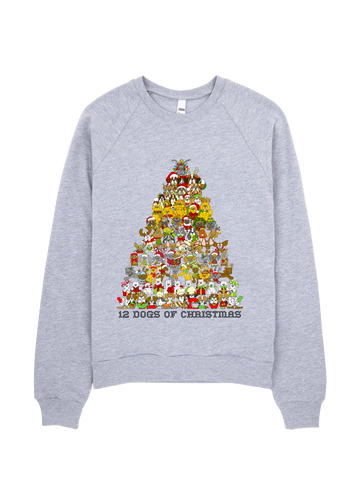 12 Dogs of Christmas Sweatshirt