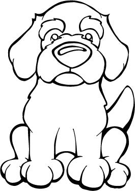 Cockapoo Decal Dog