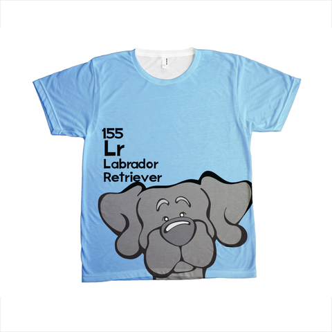 Black Lab - The Dog Table All-Over-Printing Tee