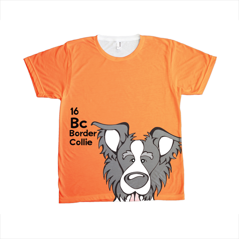 Border Collie - The Dog Table All-Over-Printing Tee
