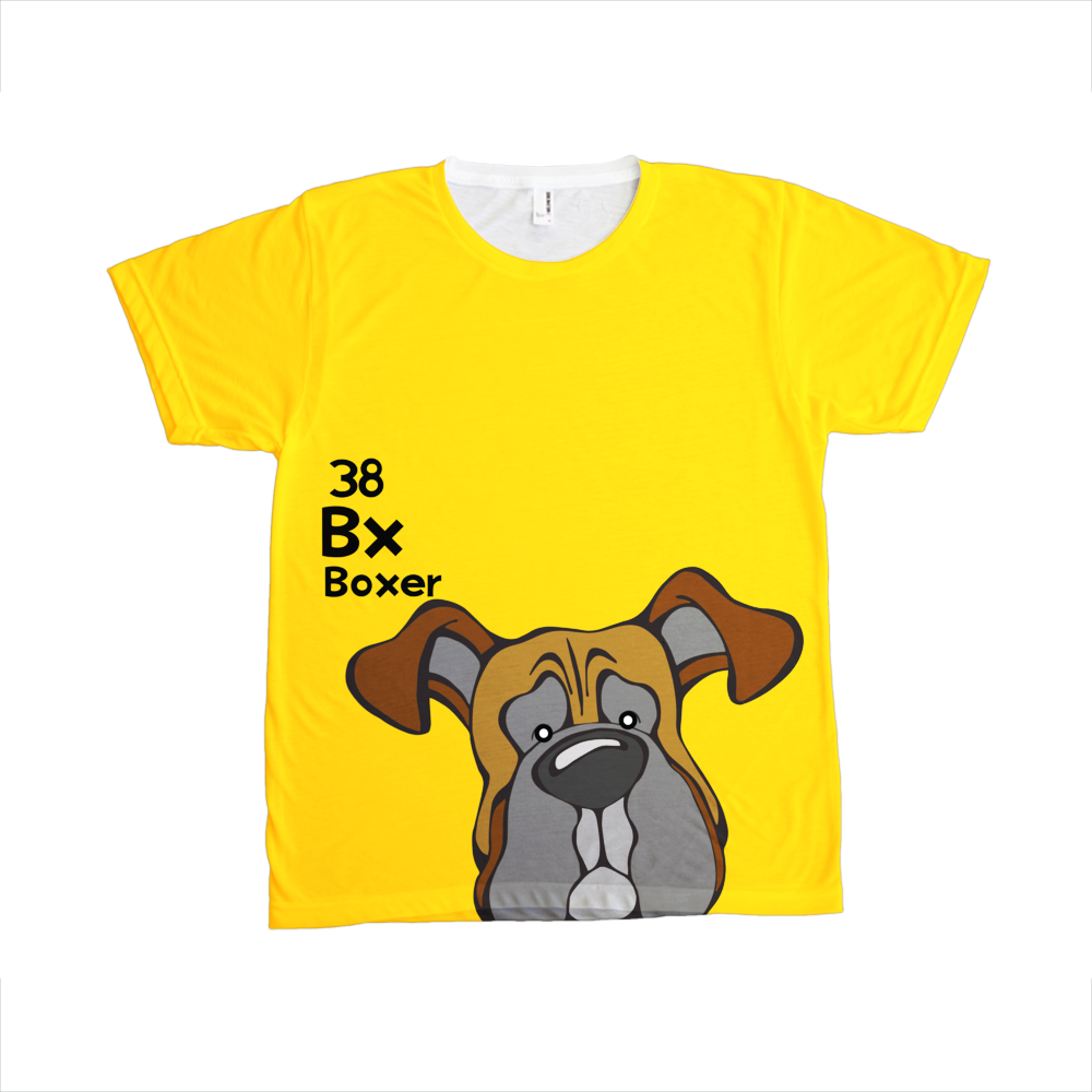 Boxer - The Dog Table All-Over-Printing Tee