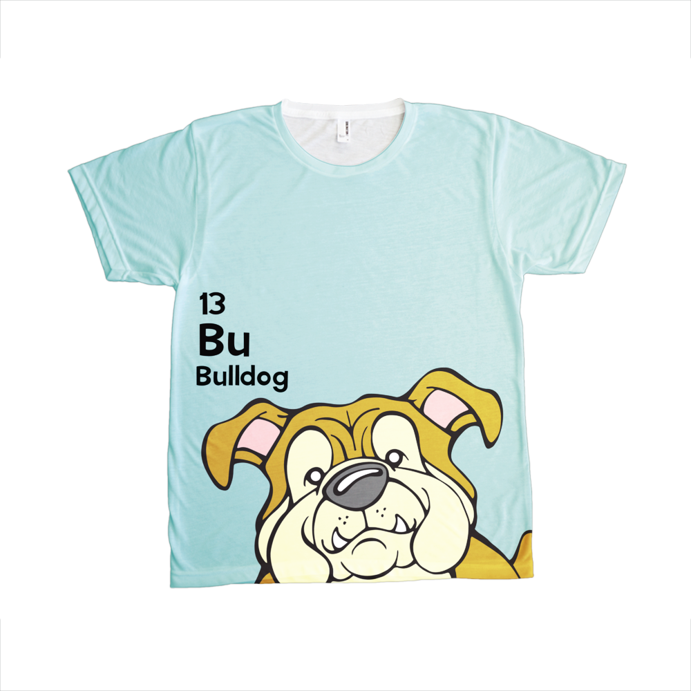 Bulldog - The Dog Table All-Over-Printing Tee