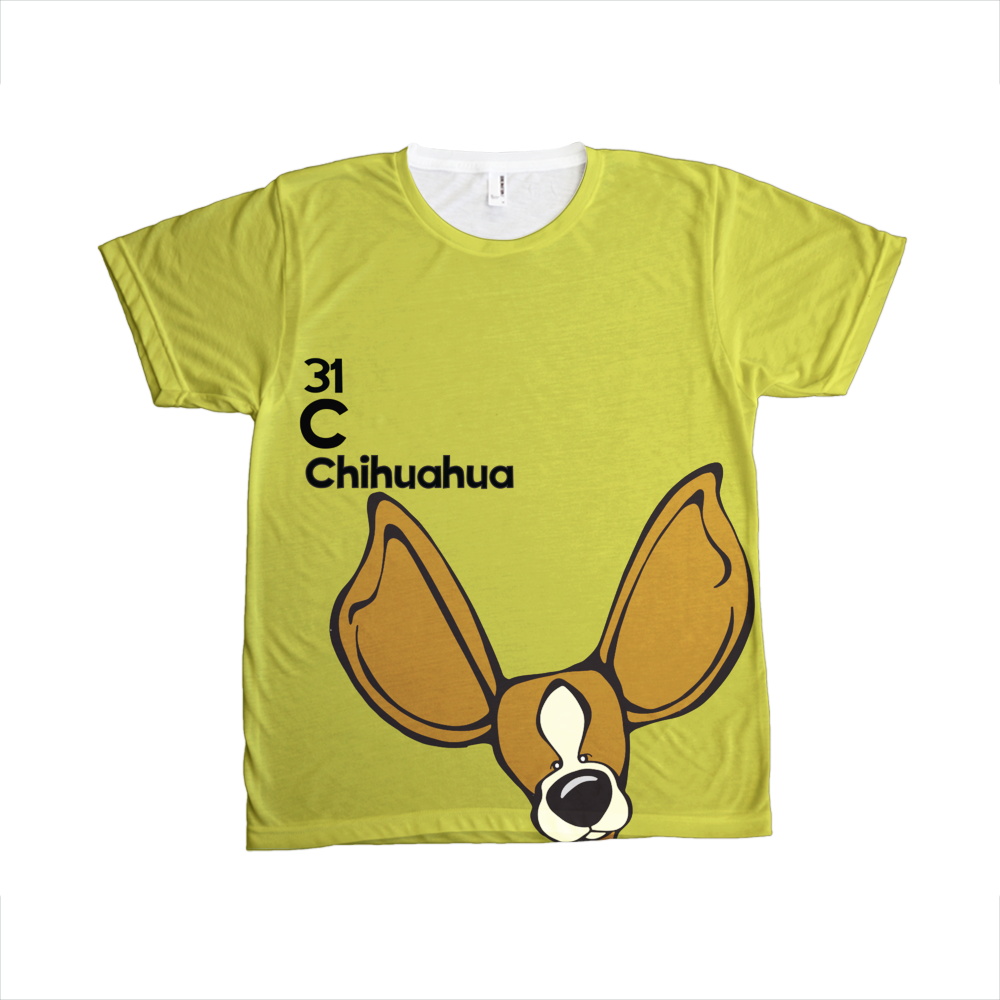 Chihuahua - The Dog Table All-Over-Printing Tee