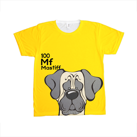 Mastiff - The Dog Table All-Over-Printing Tee