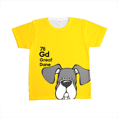 Natural Mantle Great Dane - The Dog Table All-Over-Printing Tee