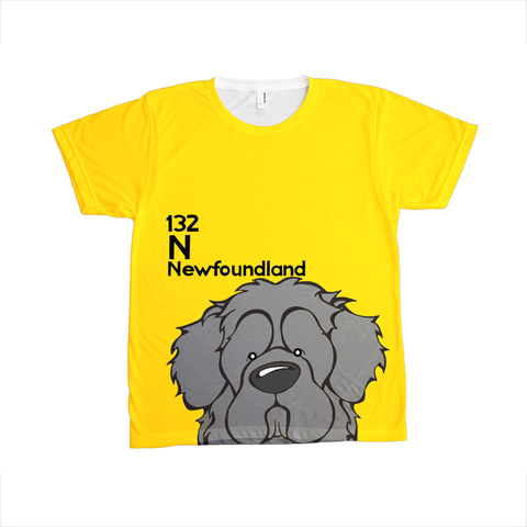 Newfoundland - The Dog Table All-Over-Printing Tee