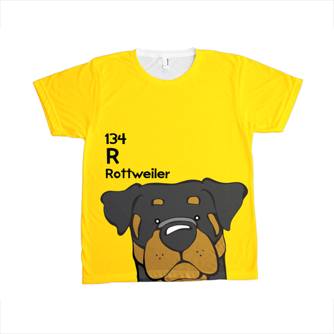 Rottweiler - The Dog Table All-Over-Printing Tee