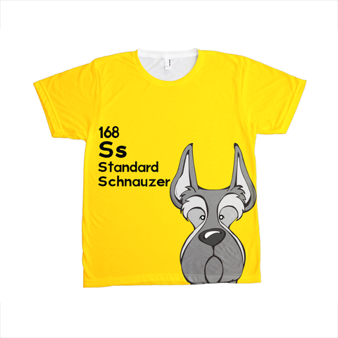 Standard Schnauzer - The Dog Table All-Over-Printing Tee