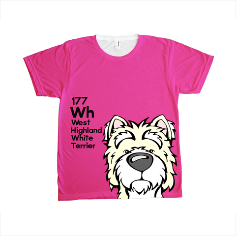 West Highland White Terrier - The Dog Table All-Over-Printing Tee