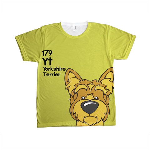 Yorkshire Terrier - The Dog Table All-Over-Printing Tee