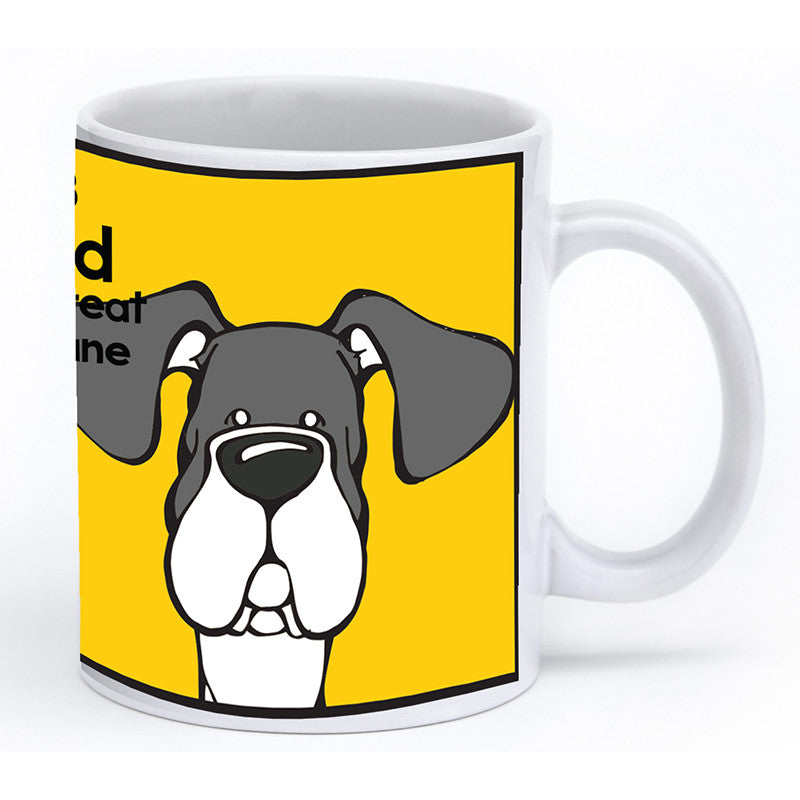 Mantle Great Dane Natural Ears Mug
