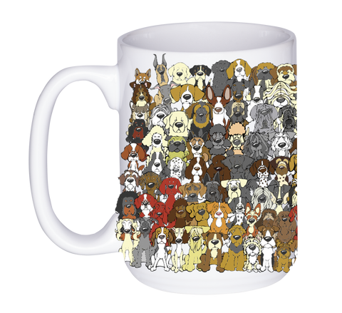 """Find the Panda"" Dog Edition Mug"