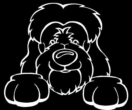 Tibetan Terrier Decal
