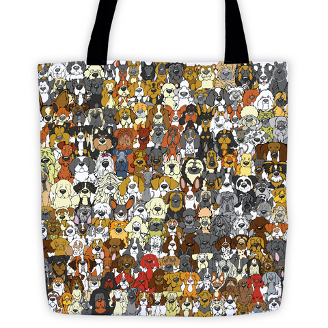 """Find the Panda"" Dog Edition Tote"