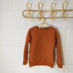 Sweater rib roest