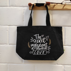 "Big Bag ""The secret ingredient is always love"""
