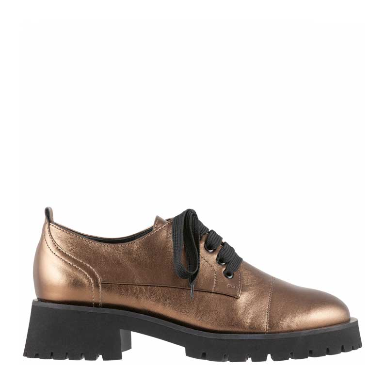 Hogl Bronze Leather Brogues