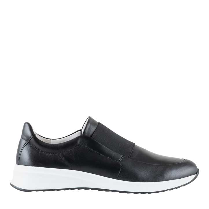 Hogl Black Slip-On Trainers