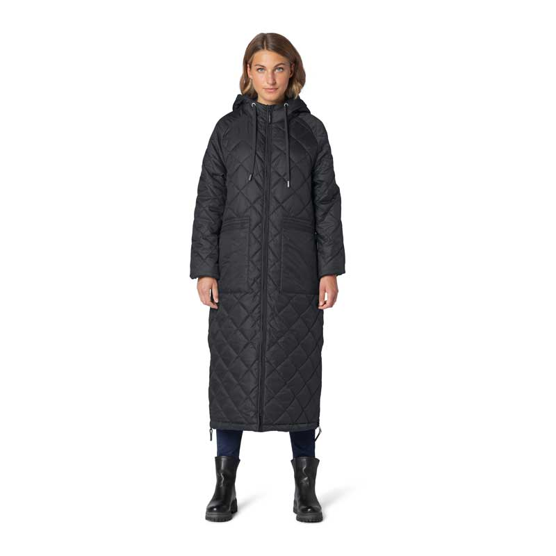 Ilse Jacobsen Aerial Black Coat