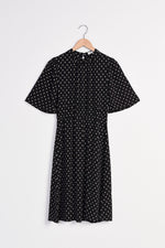 Dry Lake Sigrid Black Drop Dress