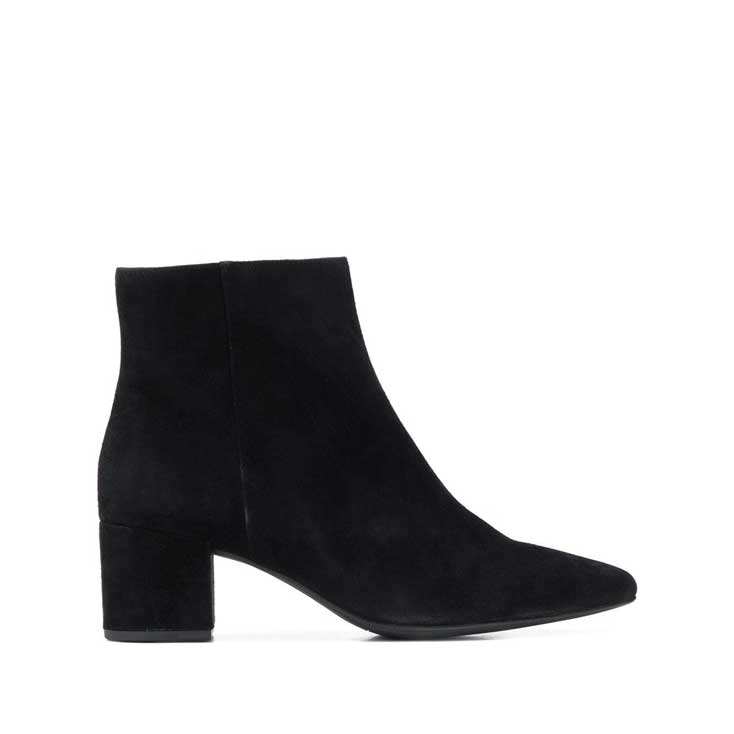 Hogl Black Suede Ankle Boots,Boots,Hogl,Ooh! Ruby Shoes