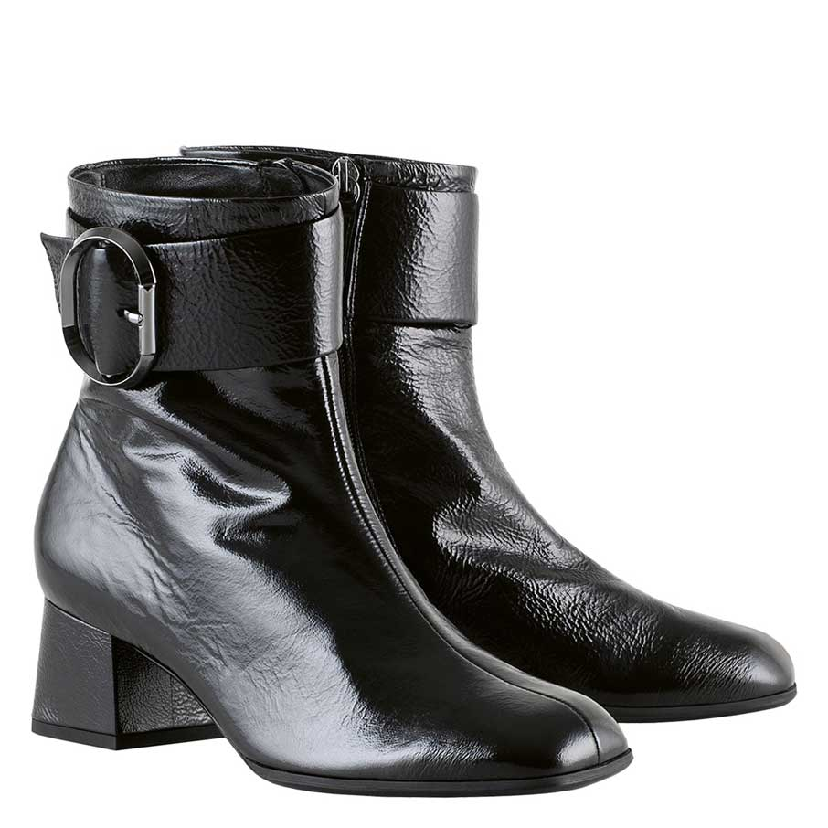 Hogl Wetlack Buckle Ankle Boots