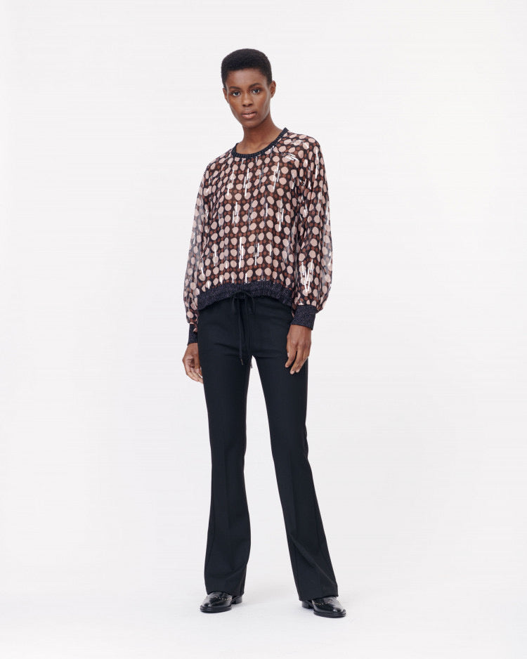 Munthe Ethiopia Mocca Top,Tops,Munthe,Ooh! Ruby Shoes