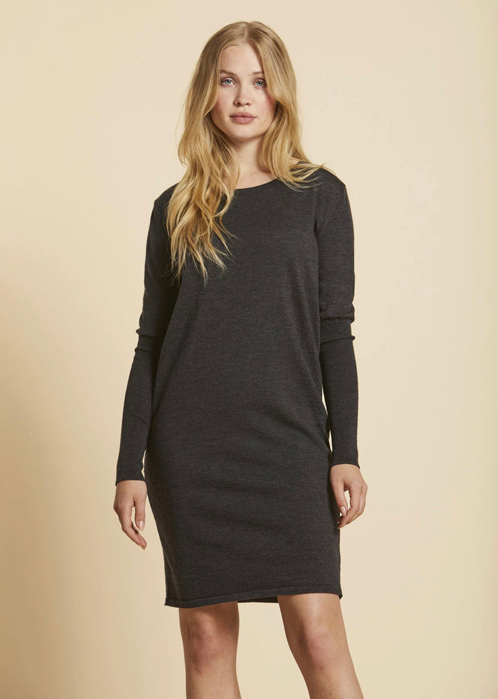 Sibin Linnebjerg Ella Grey Sweater Dress