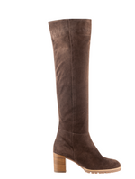 Hogl Candice Brown Suede Boots