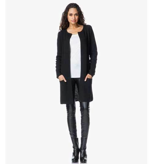 Sibin Linnebjerg Mary Cardigan Black,Cardigans,Sibin Linnebjerg,Ooh! Ruby Shoes