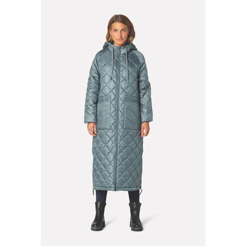 Ilse Jacobsen Aerial Ice Blue Coat